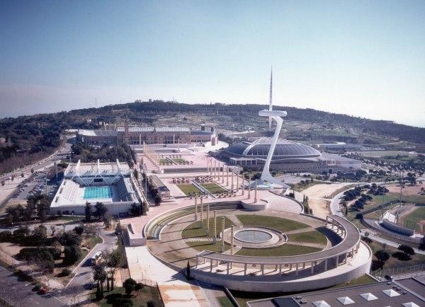 Parc Olympique de Montjuïc - Barcelone - Open Camp 2015