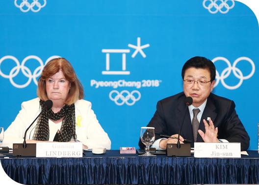 PyeongChang 2018 - Gunilla Lindberg - Jin-sun Kim