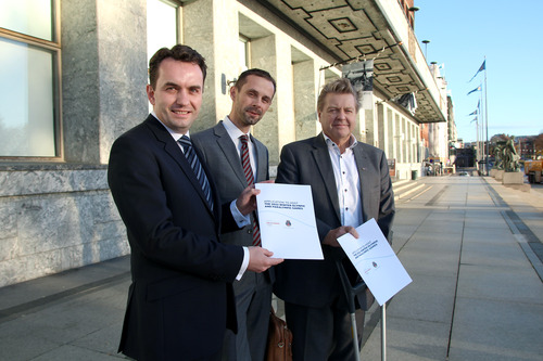 Stian Berger Rosland, Hallstein Bjercke et Borre Rognlien