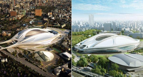 Tokyo 2020 - nouveau Stade Olympique - nouvelle version