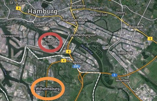 Hambourg 2024 - vue satellite
