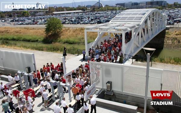 Levi's Stadium - vue parking