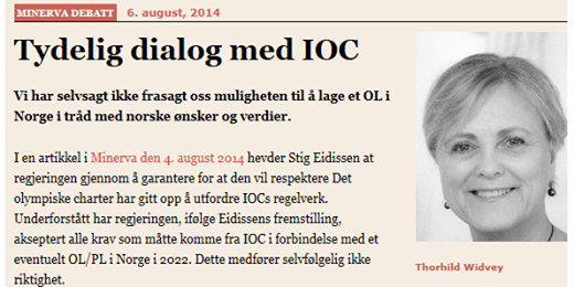 Oslo 2022 - Thorhild Widvey