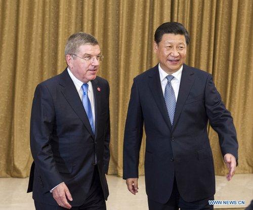 Pékin 2022 - Thomas Bach et Xi Jinping