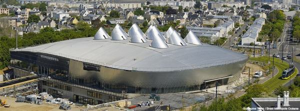 Brest Arena - extérieur