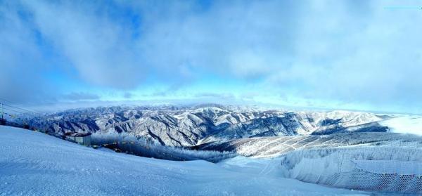 Pékin 2022 - montagnes de Zhangjiakou