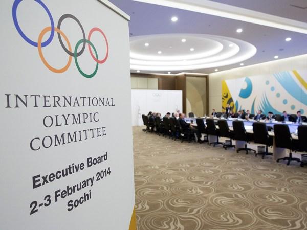 Commission exécutive du CIO - février 2014