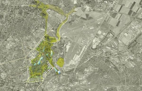 Paris 2024 - Central Park - carte