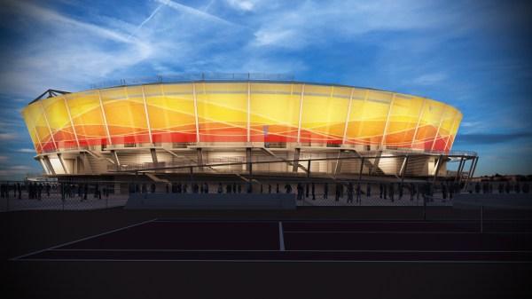 Rio 2016 - Centre olympique de tennis - visuel