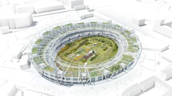 Amsterdam 2028 - projet de Stade post-JO