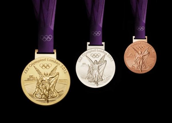 Médailles olympiques - Londres 2012