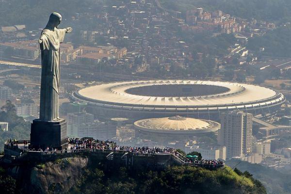 Rio 2016 - Christ Redempteur et Stade Maracana