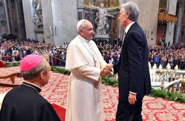 Rome 2024 - Pape François et Giovanni Malago