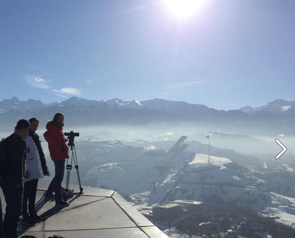 Almaty - vue d'ensemble