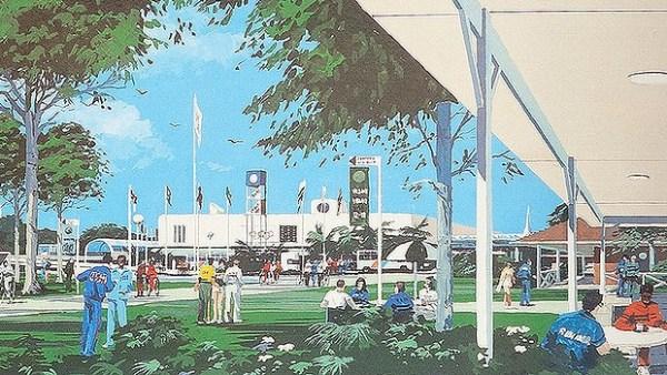 Brisbane 1992 - Village Olympique