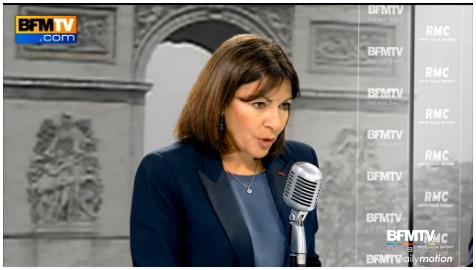Paris 2024 - Anne Hidalgo - BFMTV RMC