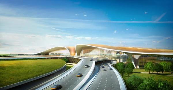Pékin 2022 - nouveau terminal aéroportuaire 3