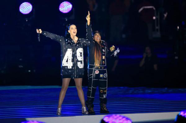 Katy Perry et Missy Elliot (Crédits – Billboard / Getty Images / Christopher Polk)