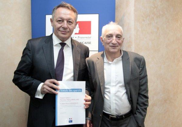 Thierry Braillard et Jean-Pierre Karaquillo