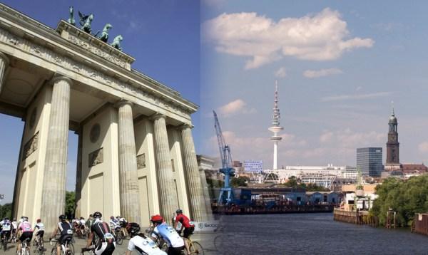 Berlin et Hambourg