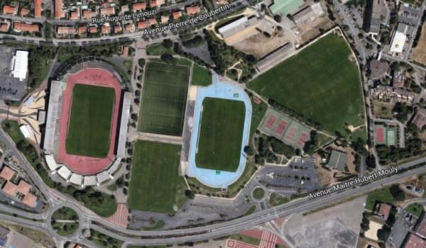 Vue du Parc des Sports et de l'Amitié - Narbonne