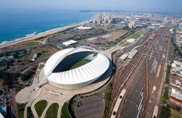Vue du Parc olympique de Durban