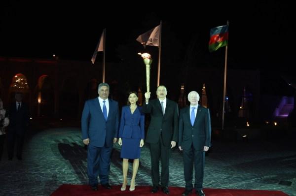 Bakou 2015 - officiels
