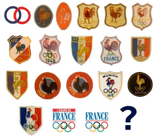 France Olympique - coq