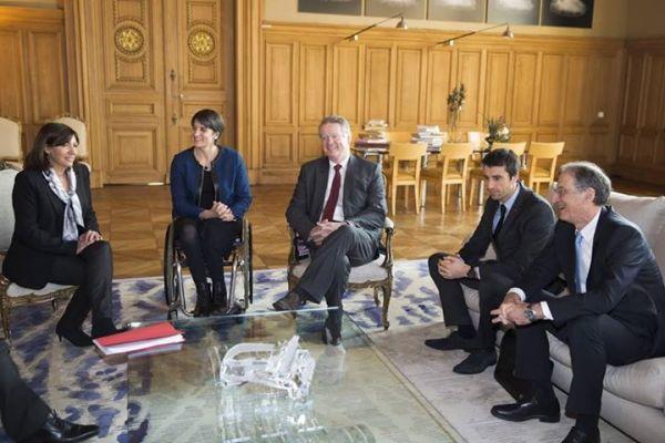 Paris 2024 - Anne Hidalgo - Mouvement olympique