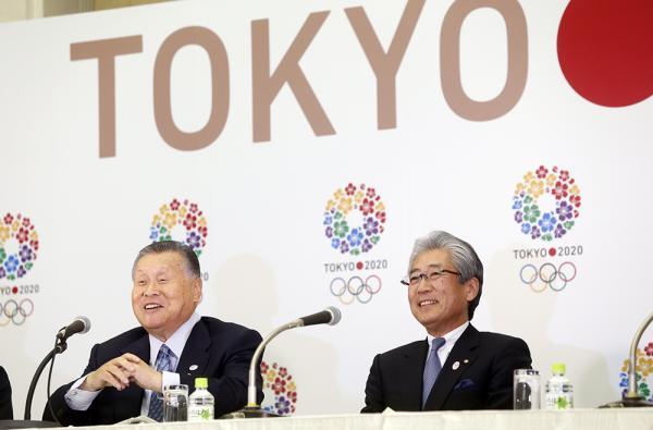 Tokyo 2020 - Yoshiro Mori - Tsunekazu Takeda