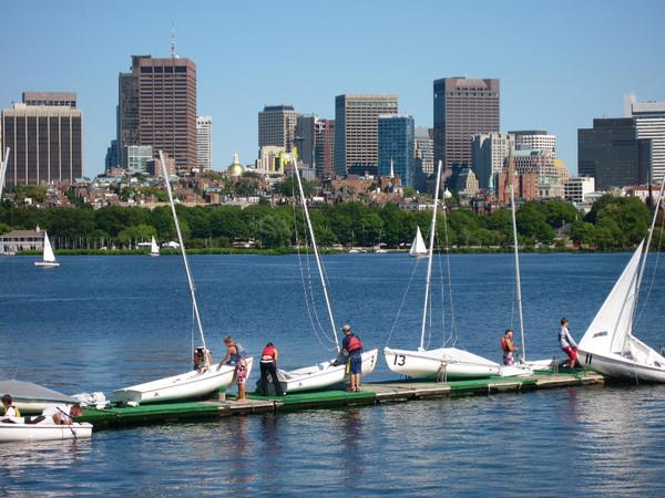 Vue de la baie de Boston (Crédits - Boston 2024)