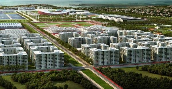 Istanbul 2020 - Village Olympique