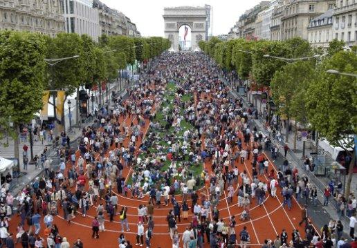 Paris 2012 - piste