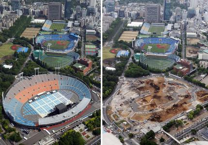 Stade National du Japon - mai 2014 - mai 2015