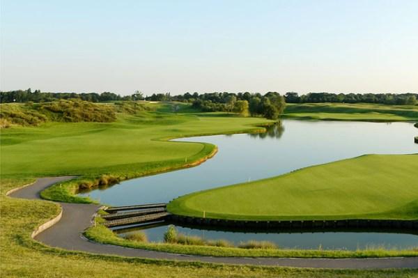Vue du Golf National de Guyancourt (Crédits - Fédération Française de Golf)
