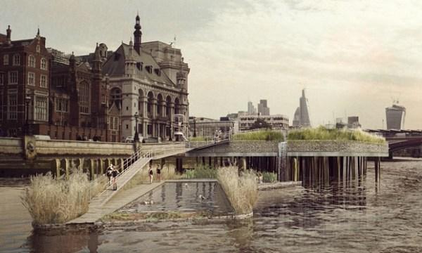 (Crédits - Studio Octopi / Thames Baths Project)