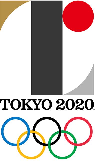 Emblème des Jeux Olympiques d'été 2020 (Crédits - Tokyo 2020)