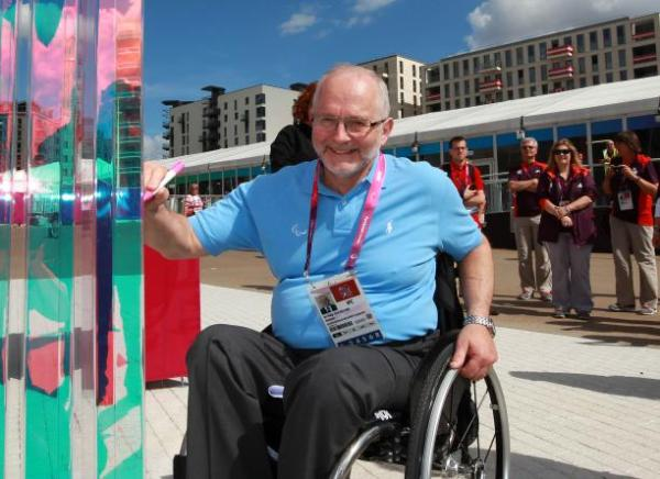 Sir Philip Craven, Président du Comité International Paralympique (Crédits - CIP / Jan Kruger)