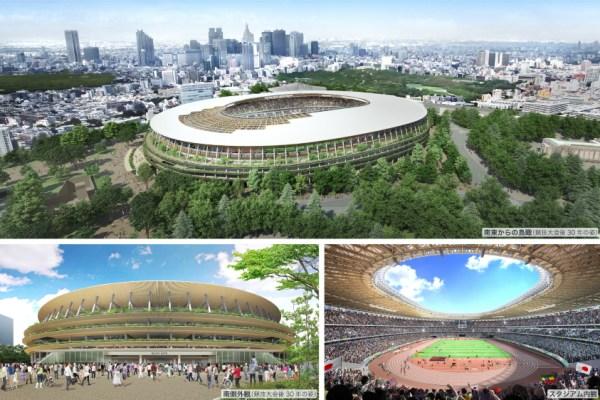 (Crédits - Kengo Kuma / Japan Sport Council)