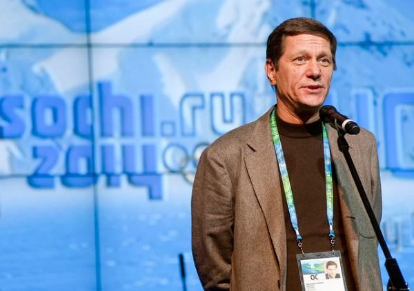 Alexander Zhukov (Crédits - Sotchi 2014)