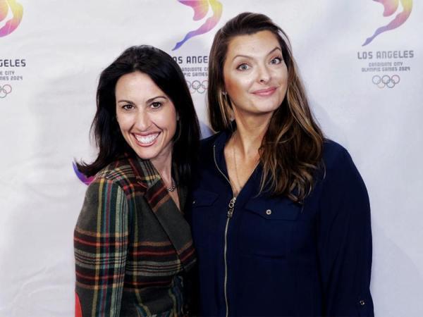Janet Evans et Tamara Christopherson (Crédits - LA 2024)