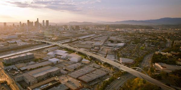 Vue panoramique de Los Angeles (Crédits - LA Mayor)