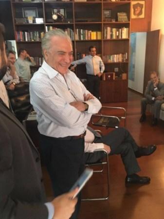 Michel Temer a assisté au vote individuel des députés brésiliens (Crédits - Divulgação)