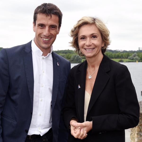 Tony Estanguet et Valérie Pécresse (Crédits - Paris 2024)