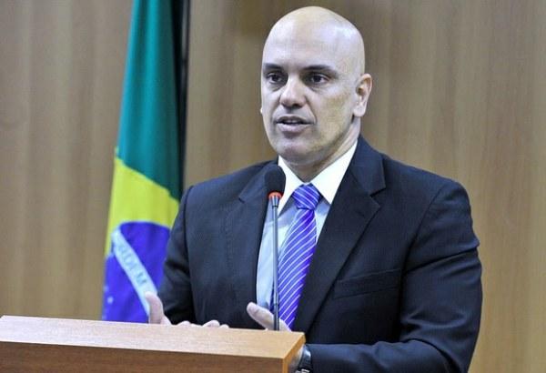Alexandre de Moraes, Ministre de la Justice et de la Citoyenneté (Crédits - Ministère Brésilien de la Justice)