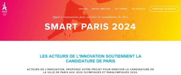 (Crédits - Capture d'écran / Plate-forme Smart Paris 2024)