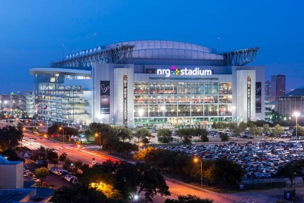 Vue extérieure du NRG Stadium (Crédits - NRG Park)