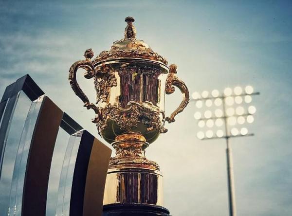 La Coupe Webb Ellis (Crédits - World Rugby)