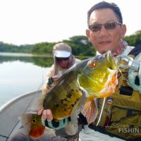 Peacock Bass Fishing in Malaysia with Bob