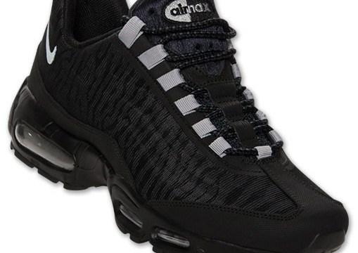 "sneakers for cheap eaa76 0baf3 Nike Air Max 95 Premium Tape ""Reflect"" – Black/Metallic Silver"